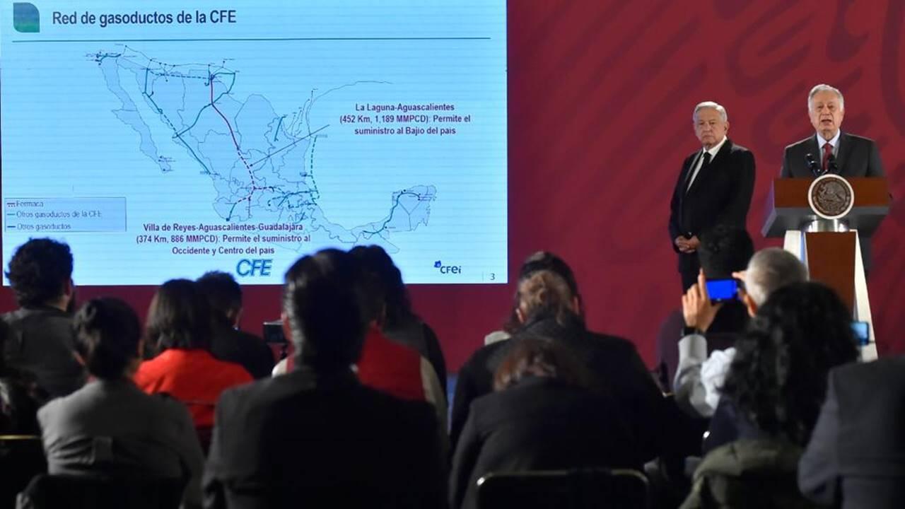 CFE logra acuerdo con Fermaca y cierra el diferendo por los gasoductos