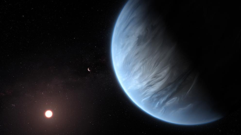 Hallan agua por primera vez en un planeta con temperatura parecida a la Tierra