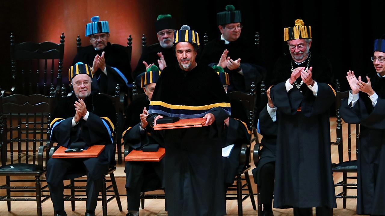 Alejandro González Iñárritu recibe Honoris Causa de la UNAM