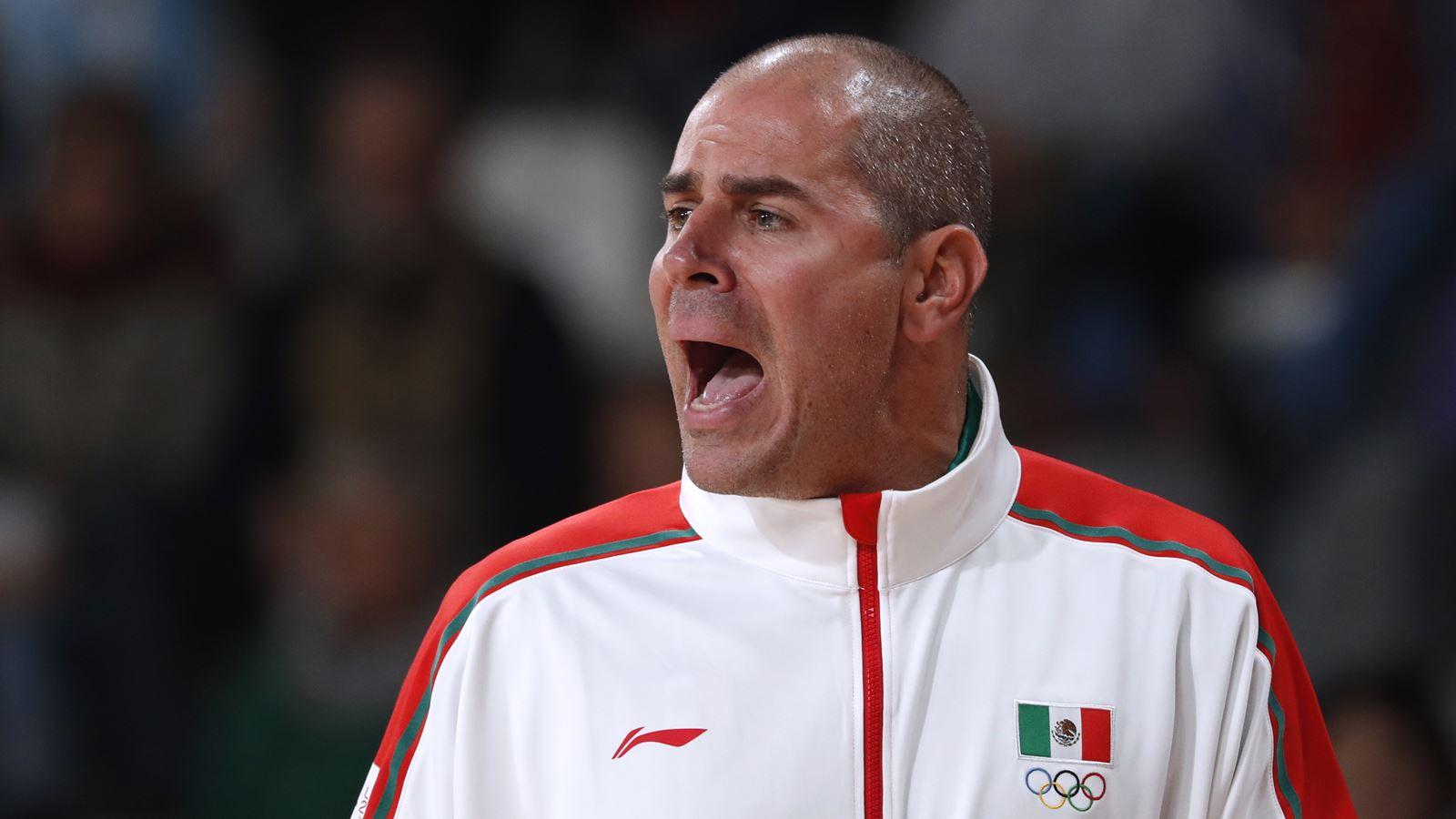 Entrenador de Selección Mexicana de Basquetbol renuncia por falta de apoyo
