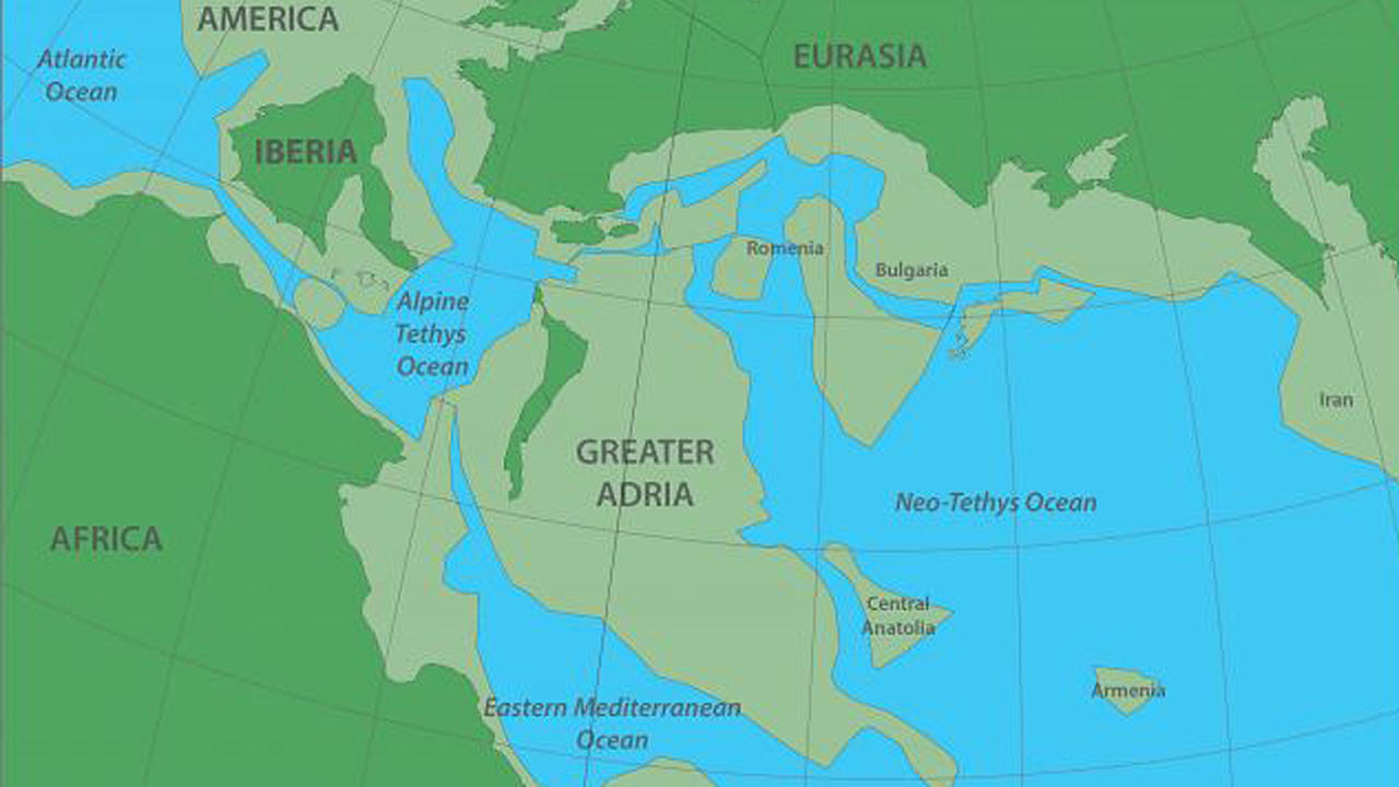 Revelan la existencia del Gran Adria, el continente perdido