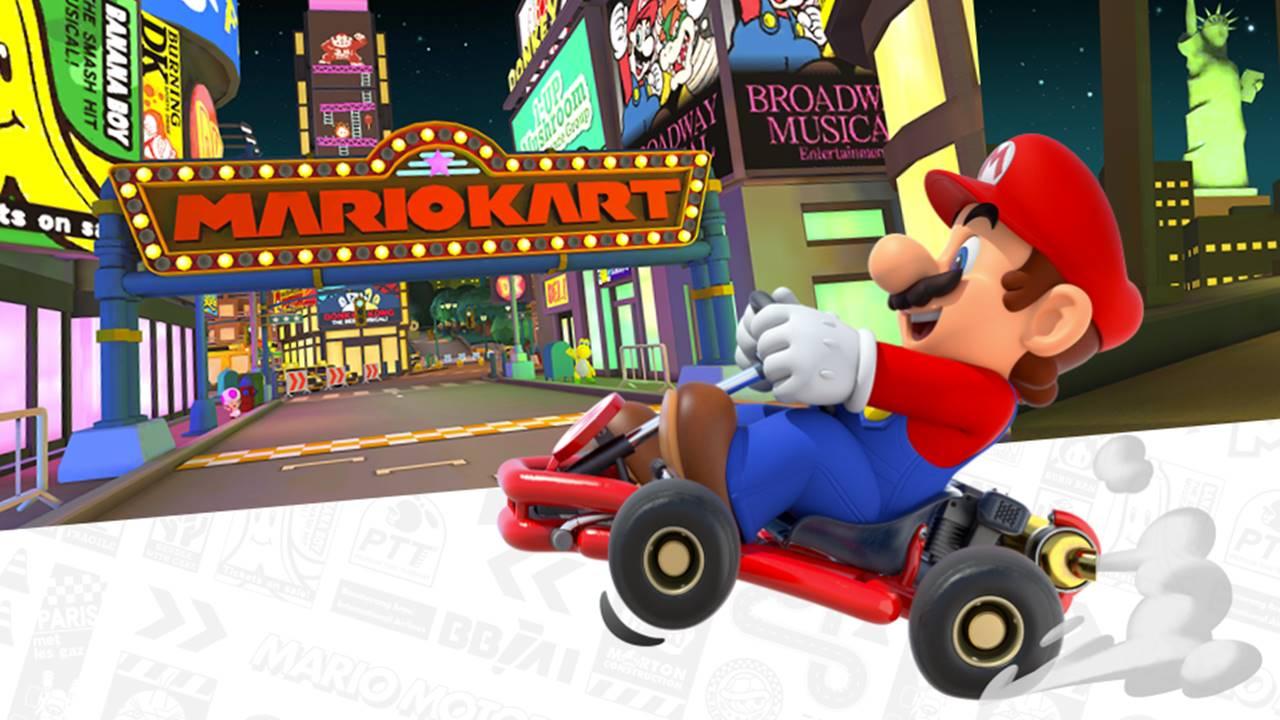 Lanzamiento de Mario Kart Tour para móviles 'tira' los servidores de Nintendo