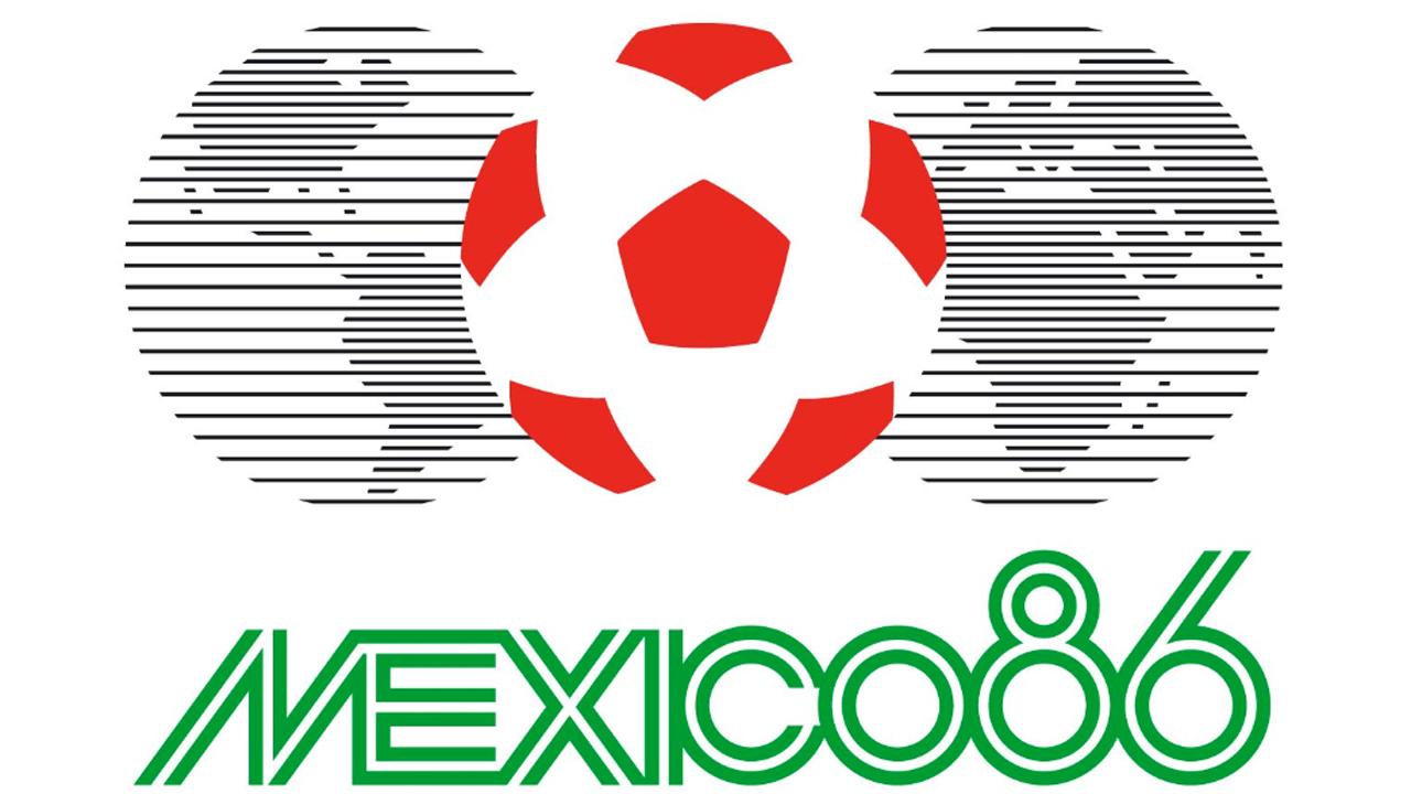 Logo de México '86, elegido como el mejor de la historia de los mundiales