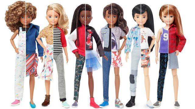 Mattel Lanza Muñecas De Género Neutro Se Pueden Vestir De