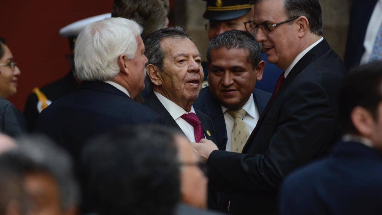 Muñoz Ledo defiende su permanencia al frente de la Cámara de Diputados