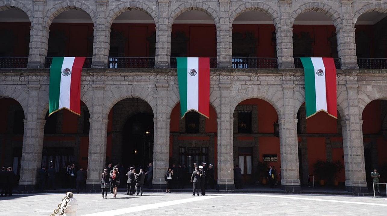 Primer Informe | Palacio Nacional se alista para el mensaje de AMLO