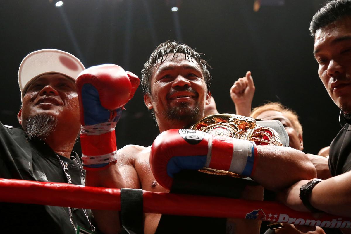 Manny Pacquiao lanza criptomoneda 'Pac', la primera relacionada a un deportista