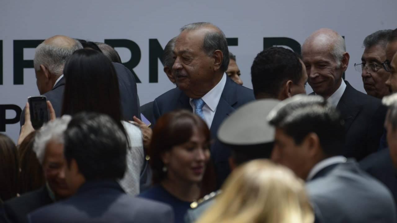 Carlos Slim espera más actividad económica en 2020