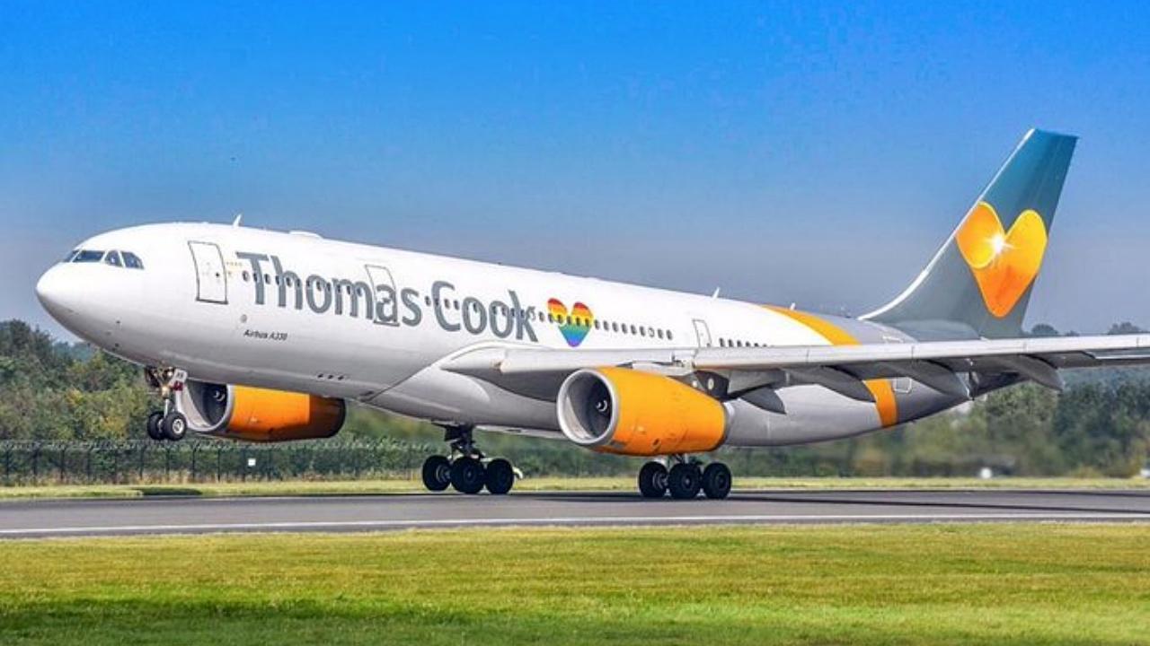 Acciones de las aerolíneas vuelan mientras Thomas Cook anuncia quiebra