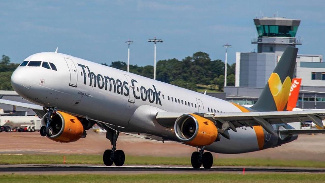 Aerolínea Thomas Cook quiebra y deja varados a 600,000 en todo el mundo