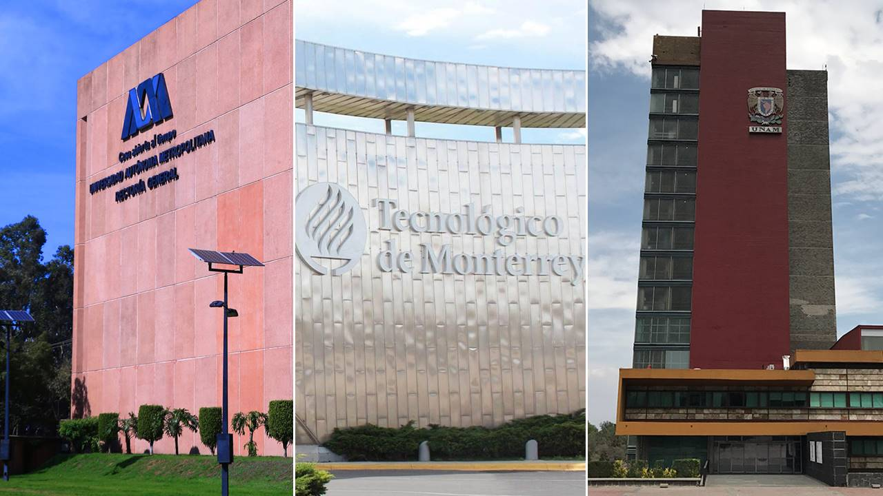 UAM, Tec y UNAM, las mejores universidades de México: Times Higher Education