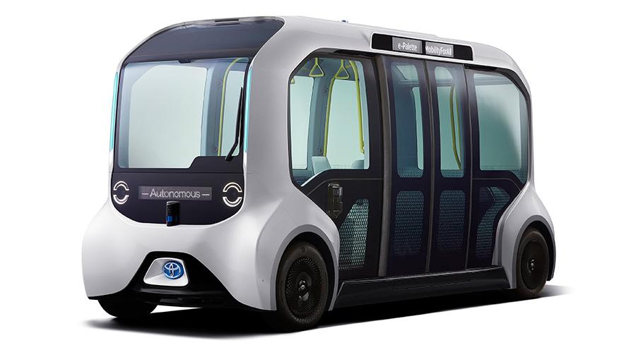 Toyota presentó vehículo oficial para traslado de los atletas de Tokio 2020