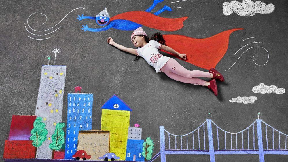 Puma lanza colección para niños inspirada en Plaza Sésamo