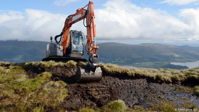 Escocia: restaurando las turberas para proteger el clima