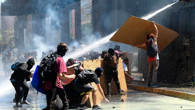 Protestas-Chile