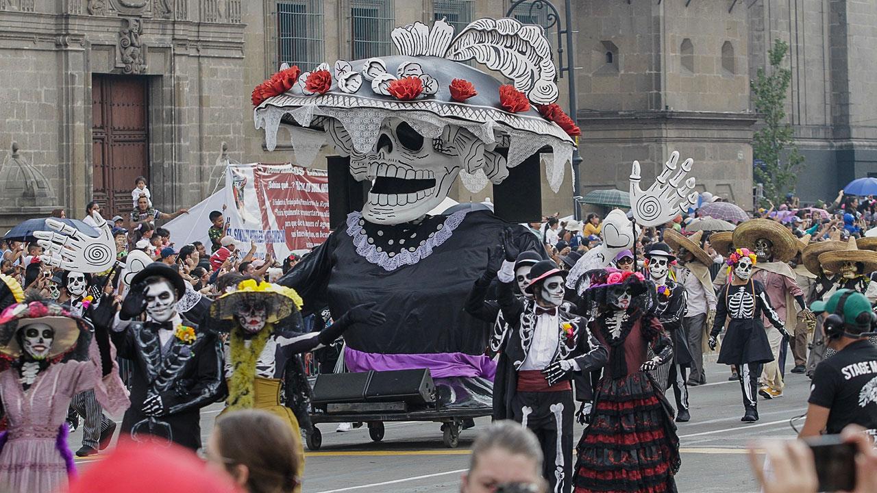 Fotogalería: Así se vive el Desfile Internacional del Día de Muertos