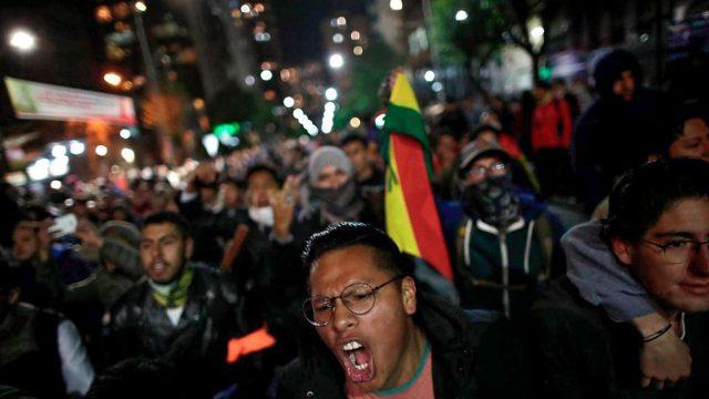 Protestas-Bolivia