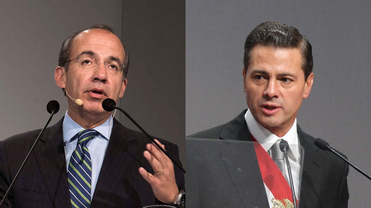 Felipe Calderon Enrique Peña Nieto