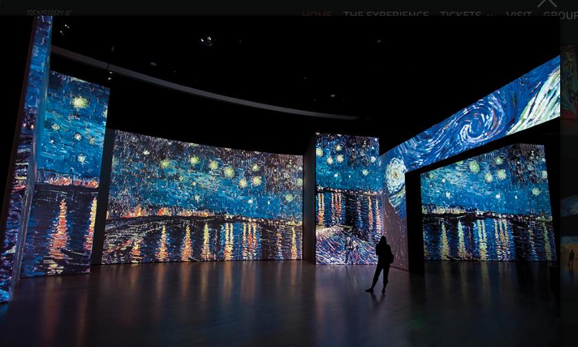 Así se ve la expo Van Gogh Alive que vendrá a México en 2020