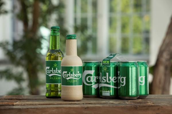 Botellas de cerveza de papel sustituirían envases de vidrio y metal