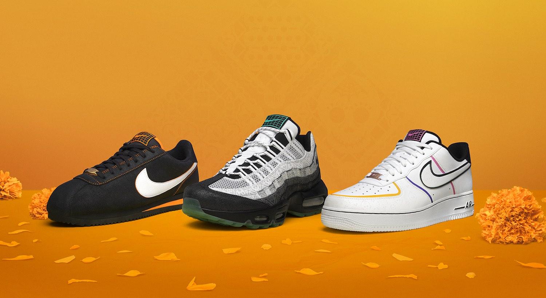 Nike lanza una colección de tenis inspirados en el Día de Muertos