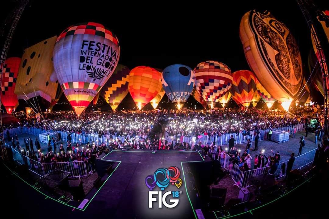 Ya viene el Festival Internacional del Globo en León, Guanajuato