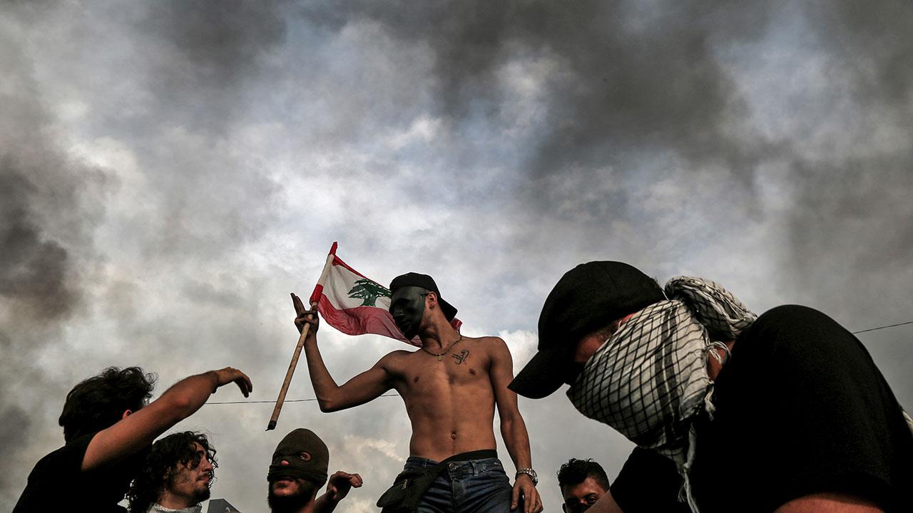 Protestas-Líbano