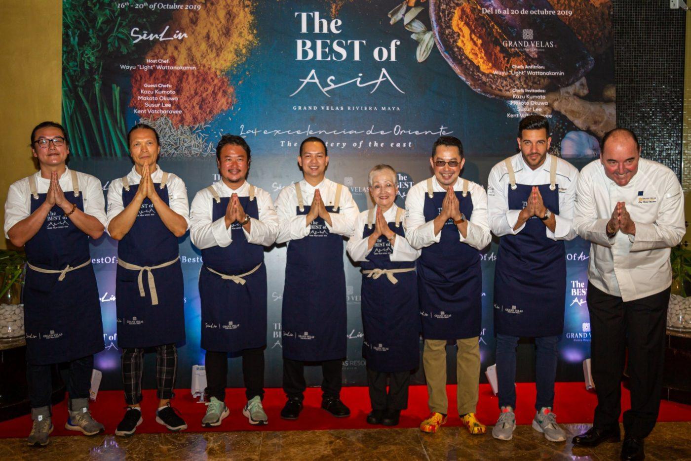 Grand Velas reúne a los mejores chefs de Asia en la Riviera Maya