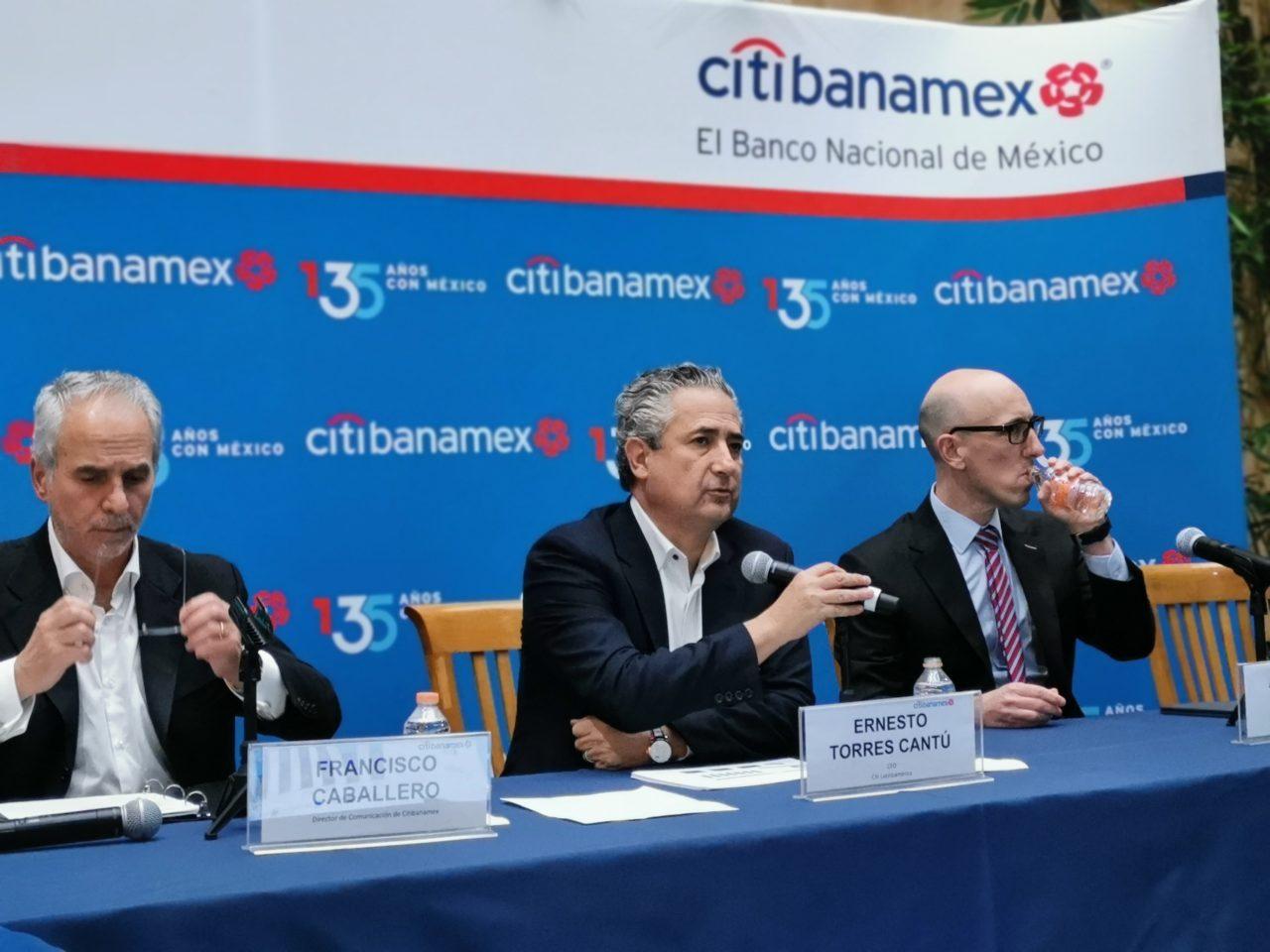 Citibanamex destaca crecimiento de utilidades del 26% en el 3T19