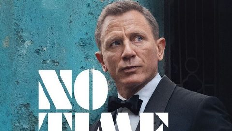 'No time to die' de James Bond revela su primer póster