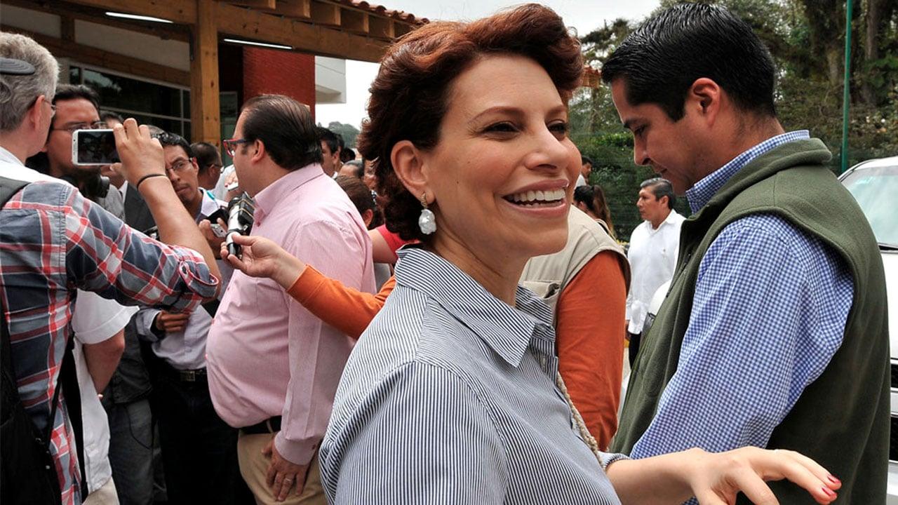Hacienda confirma orden de aprehensión contra Karime Macías