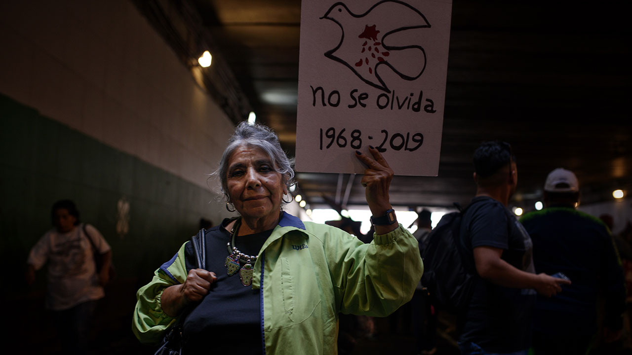 Por epidemia, no habrá marcha de 2 de octubre, sólo mitin en Tlatelolco