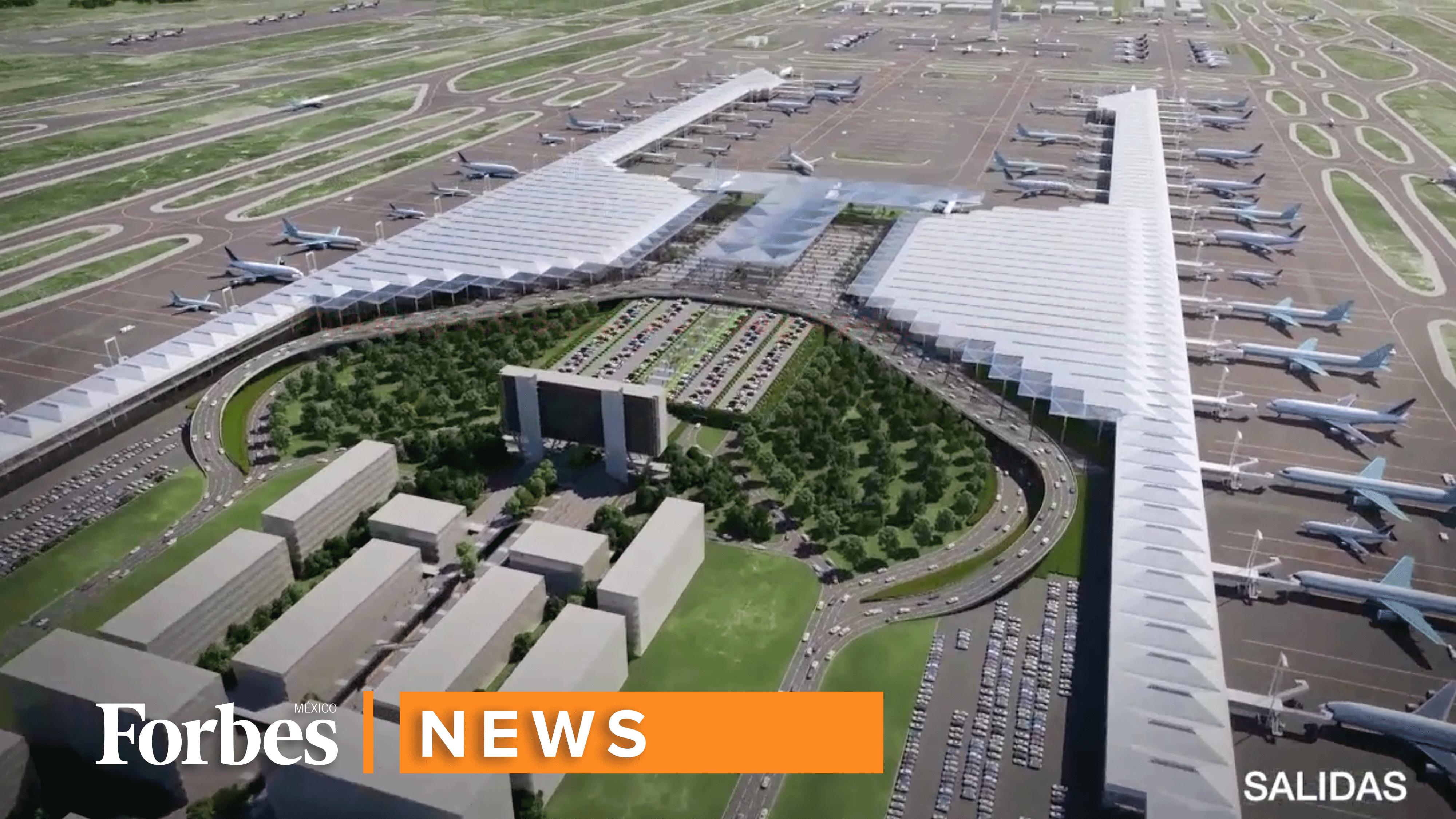 Recorrido virtual | Así será el aeropuerto de Santa Lucía