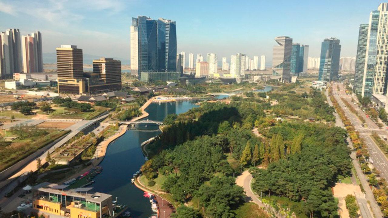 Songdo, la ciudad que elimina la necesidad de usar coches