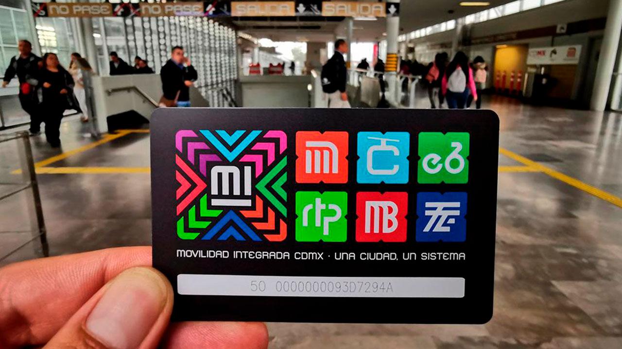 Esta es la tarjeta con la que puedes pagar cualquier transporte en CDMX
