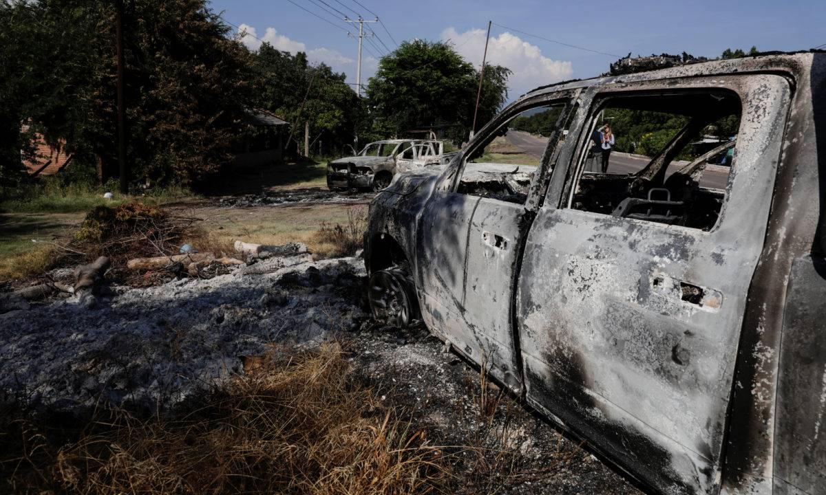 Así pidieron auxilio los policías emboscados en Michoacán
