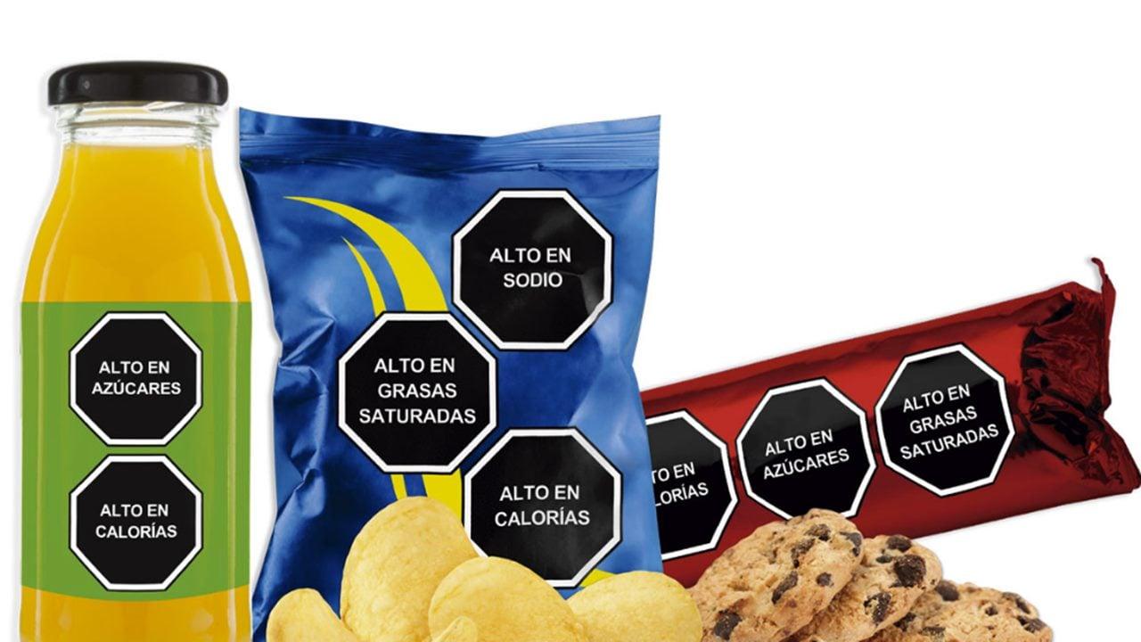 Reforma sobre etiquetado de alimentos avanza en Senado