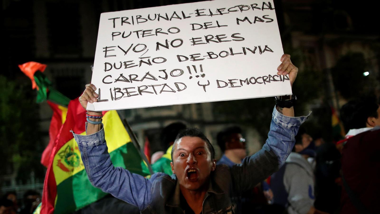 Evo Morales gana reelección entre acusaciones de fraude y protestas