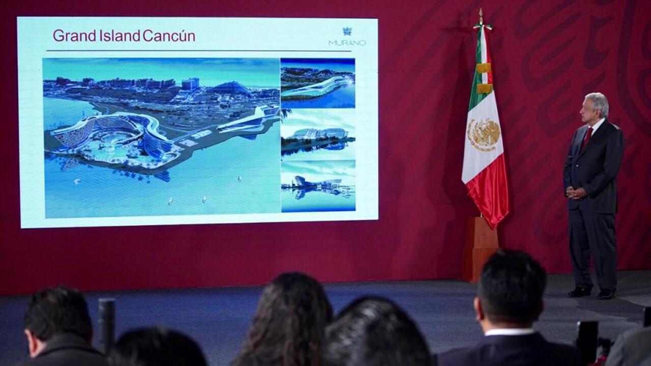 Presentan megaproyecto hotelero de 1,000 mdd para Cancún; 4T lo financiará