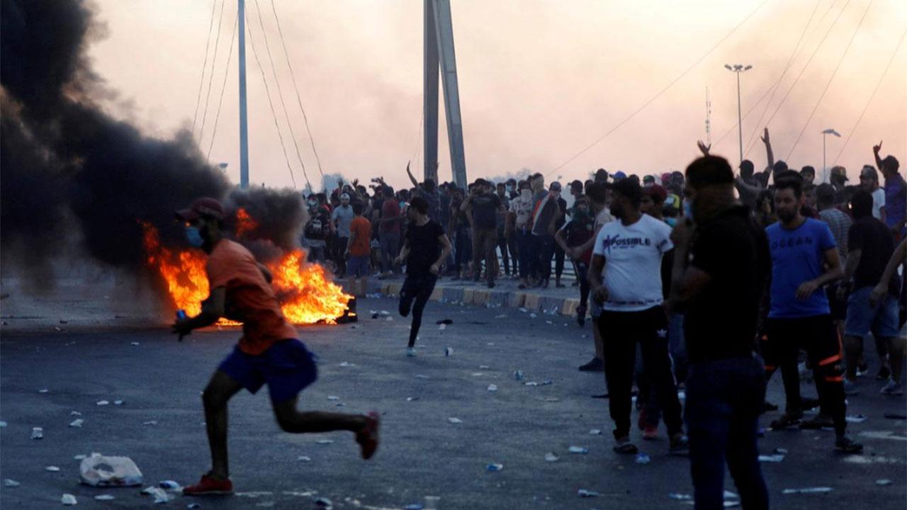 Protestas-Irak