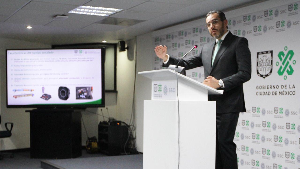 El saldo de Jesús Orta en materia de seguridad en CDMX