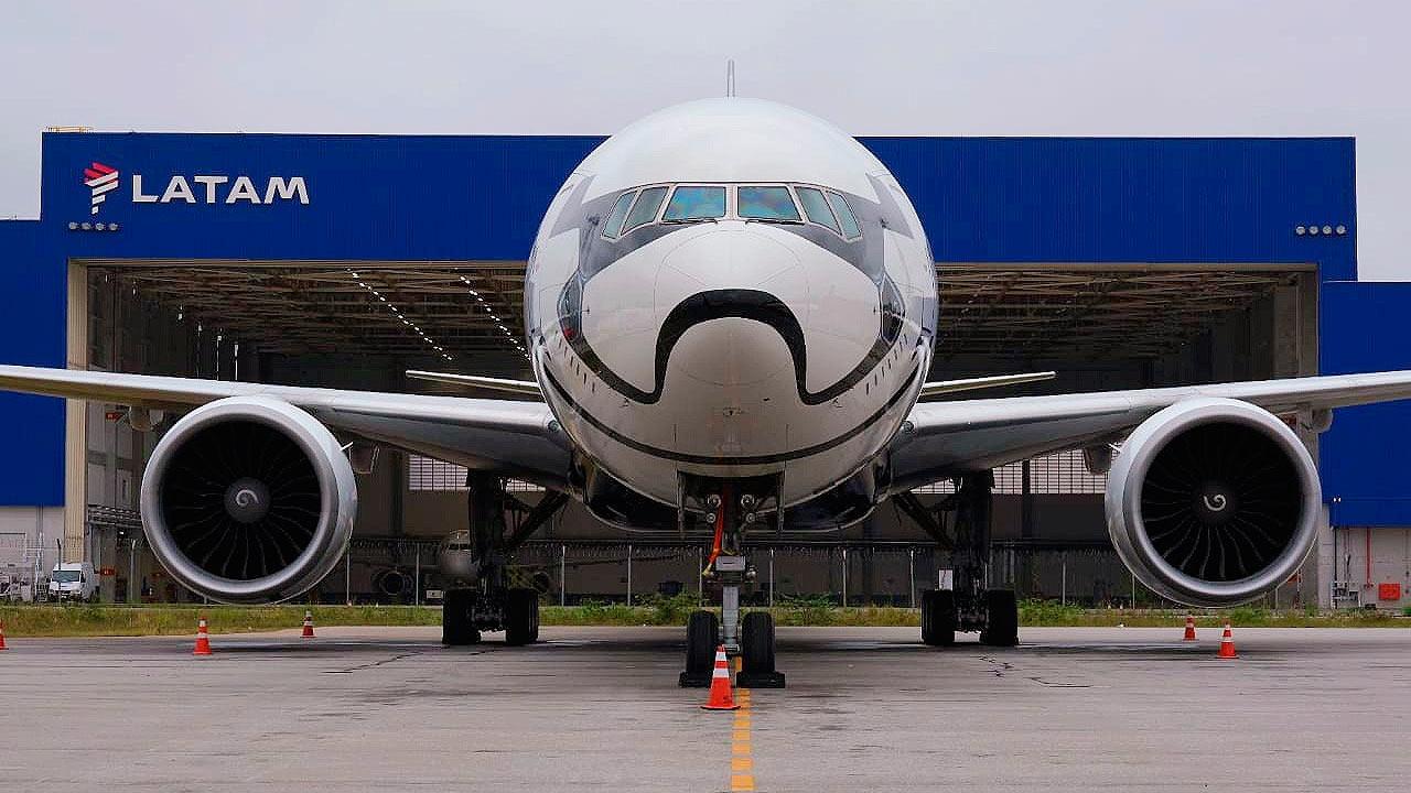 El 'Stormtrooper Plane' de LATAM Airlines llega a Brasil
