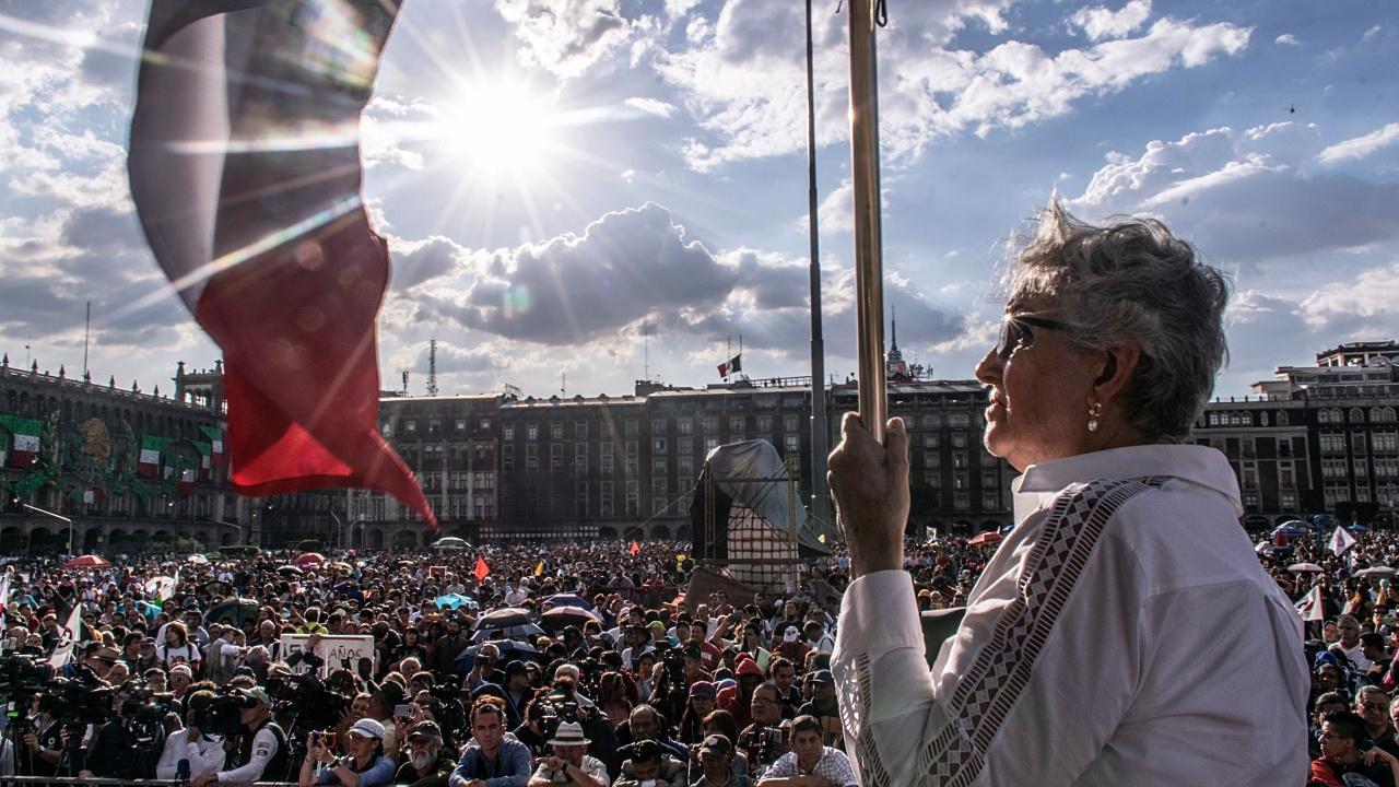 Galería | Así se desarrolla la marcha del 2 de octubre