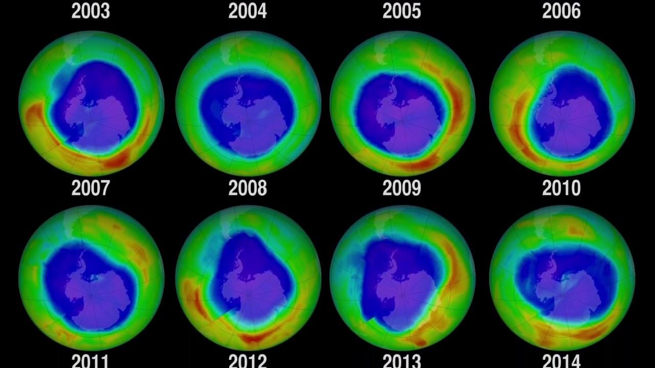 Agujero de la capa de ozono se ha vuelto más pequeño que hace 30 años