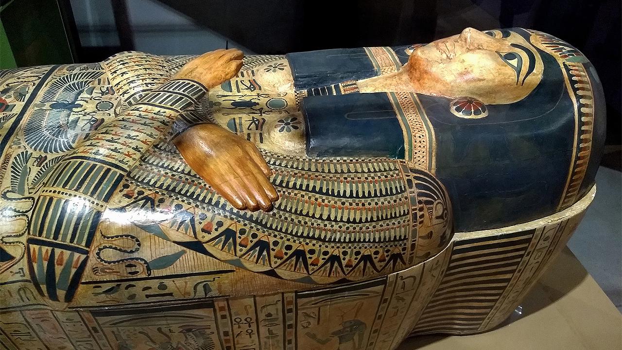 Hallan en Egipto 30 ataúdes antiguos perfectamente conservados
