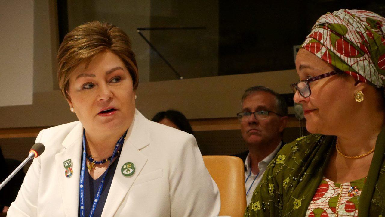 La excanciller Patricia Espinosa busca sede para COP25 tras cancelación de Chile