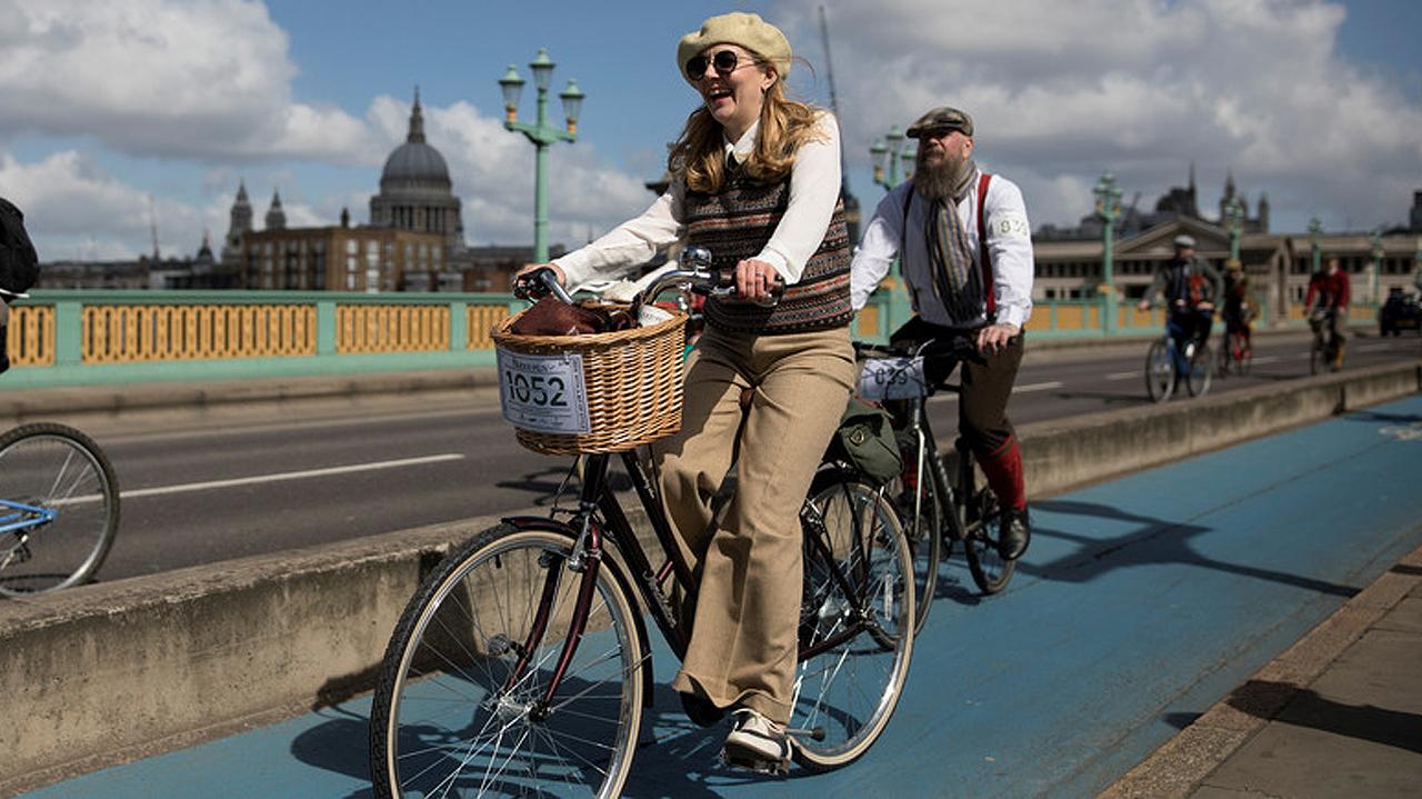 Reino Unido estrena ruta ciclista que une Inglaterra y Escocia