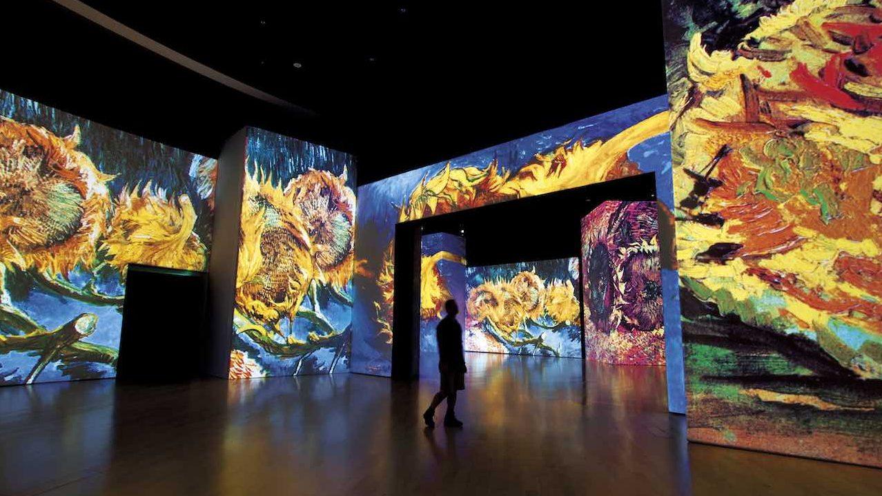 Aromas, los protagonistas de Van Gogh Alive en la Ciudad de México