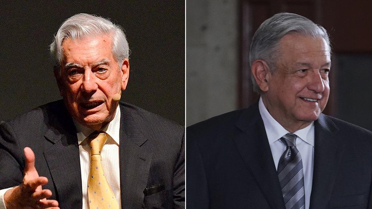 AMLO es resurrección del PRI, afirma Vargas Llosa; así le responde el presidente