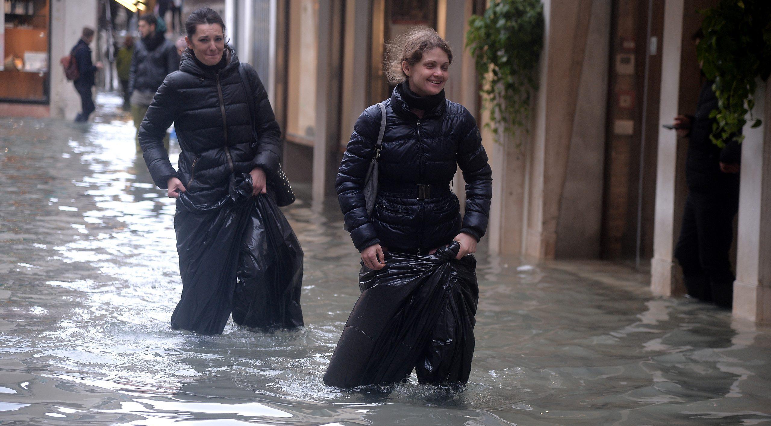 Después de Venecia, ahora Pisa y Florencia, en riesgo de inundación